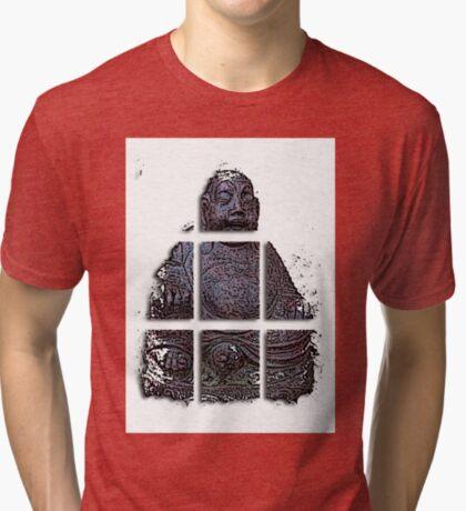 budha cubed ?  Tri-blend T-Shirt