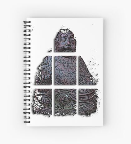 budha cubed ?  Spiral Notebook