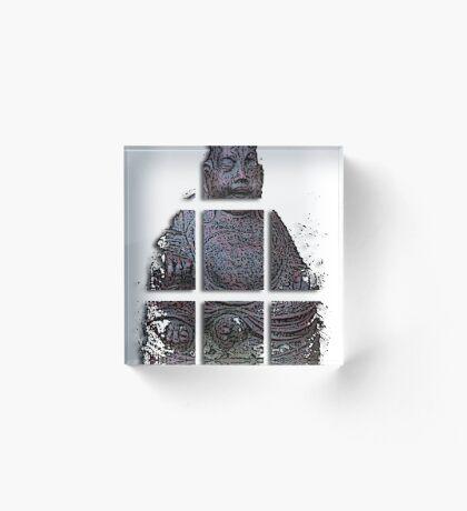 budha cubed ?  Acrylic Block