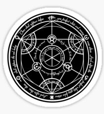 Human Transmutation Circle  Sticker