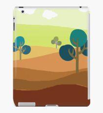 Minimalist Tshirt Landscape Retro iPad Case/Skin