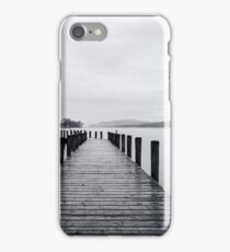 Coniston water on the lakedistrict iPhone Case/Skin