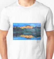Mountain Jasper with reflection on Maligne Lake T-Shirt