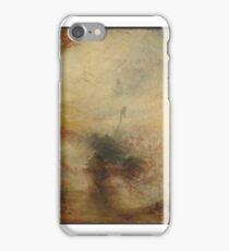 Joseph Mallord William Turner    Light and Colour (Goethe's Theory) - the Morning after the Deluge - Moses Writing the Book of Genesis iPhone Case/Skin