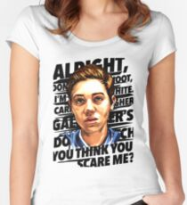 carl gallagher Women's Fitted Scoop T-Shirt