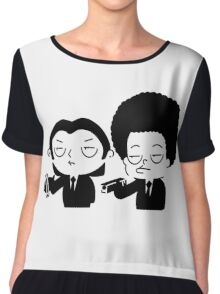 Stewie and Ralo - pulp fiction Chiffon Top