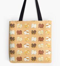 Pomeranian Parade Tote Bag
