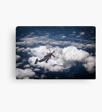 28 Squadron Spitfire Canvas Print