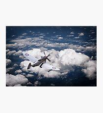 28 Squadron Spitfire Photographic Print