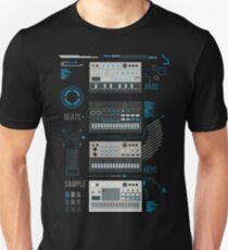 Volca Series Basic Blue  Unisex T-Shirt