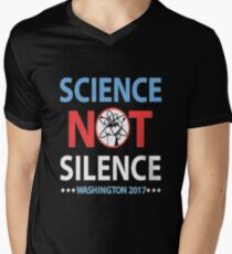 March for science: Science not silence Washington 2017 T-Shirt