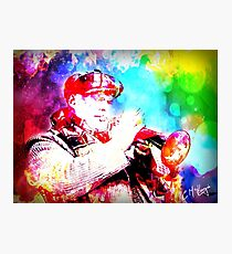 TRUMPET GLORY Photographic Print