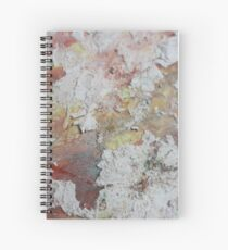 Abstract Multi-colored Painting Spiral Notebook