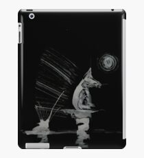 0140 - Brush and Ink - The Great Game iPad Case/Skin