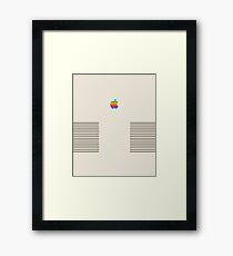 Apple Retro Edition Framed Print