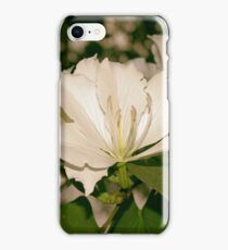 silky white... iPhone Case/Skin