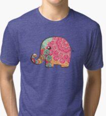 Elephant Graphic Tshirt Tri-blend T-Shirt