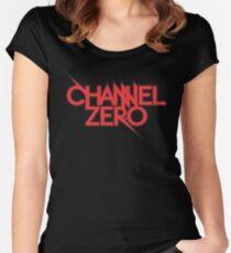 channel zero Women's Fitted Scoop T-Shirt