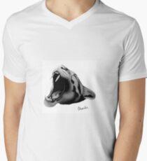 Nebulous panther V-Neck T-Shirt