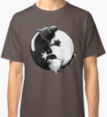 Yin and Yang Cats Classic T-Shirt