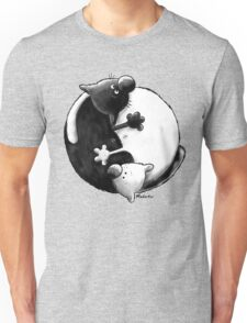 Yin and Yang Cats T-Shirt