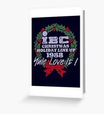 IBC Christmas Line Up Greeting Card