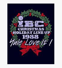IBC Christmas Line Up Photographic Print