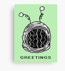 Greetings Canvas Print
