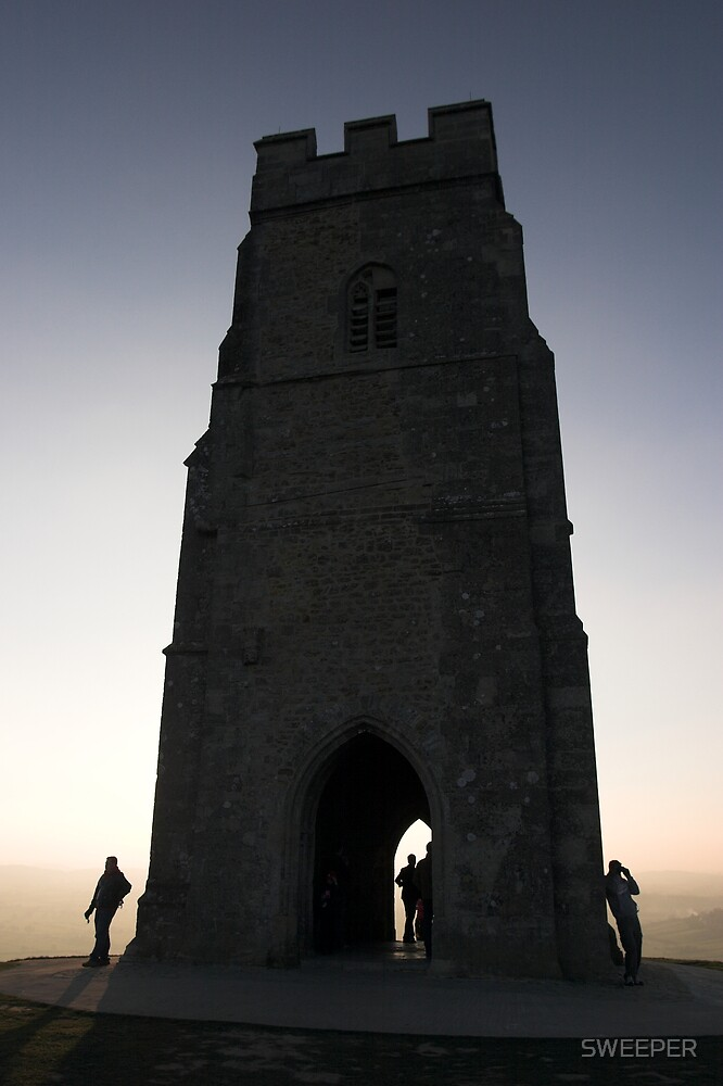 Glastonbury Tor by SWEEPER