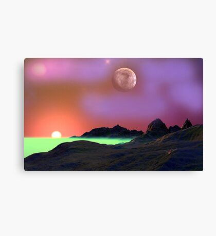 Gemma Sunset Canvas Print