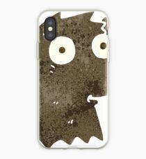retro cartoon bear iPhone Case