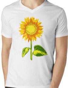 sunflower Mens V-Neck T-Shirt