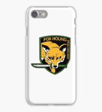 Fox Hound Special Force Group shirt,hoodie ....... iPhone Case/Skin