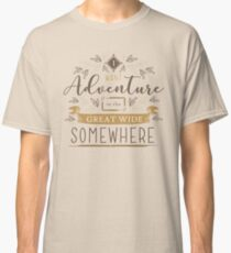 Beauty And The Beast Quote Classic T-Shirt