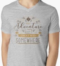 Beauty And The Beast Quote Men's V-Neck T-Shirt