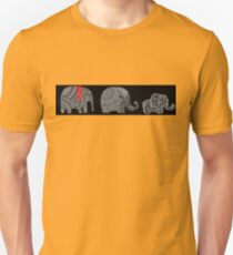 Funny animal graphic - cute elephant tshirt Unisex T-Shirt