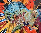 Paint Horse Blast by Juhan Rodrik