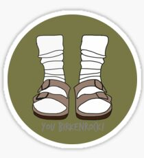 You Birkenrock Hunter Green  Sticker