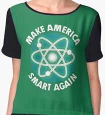 Make-America-Smart-Again-Science-Atom-T-Shirt Chiffon Top