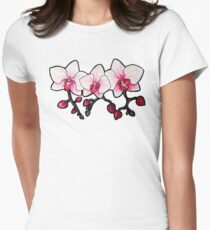 Orchids Women's Fitted T-Shirt