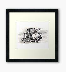 Griffin. Framed Print