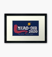Dune Muad'Dib 2020 Framed Print