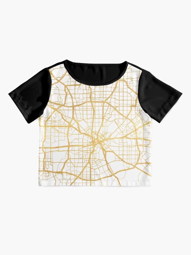 Vista alternativa de Blusa DALLAS TEXAS CITY STREET MAP ARTE