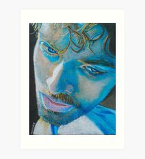 Colin Morgan as Leo Elster, Captured Art Print