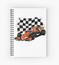Formula 1 Racing  Spiral Notebook