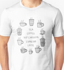 Hot beverages  Unisex T-Shirt