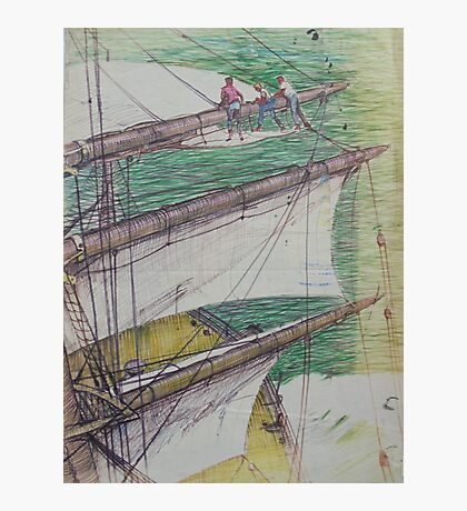 Age of sail. Photographic Print