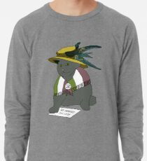 Wir fordern die Stimme Cat Leichtes Sweatshirt