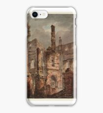 Joseph Mallord William Turner    The Interior of the Ruined Oxford Street Pantheon iPhone Case/Skin