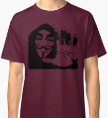 Graphic Tshirt Face Illustration Classic T-Shirt